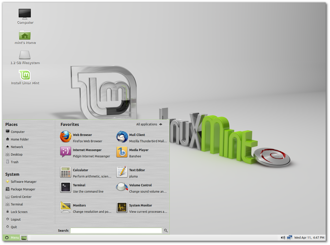 linux mint rebecca wallpapers